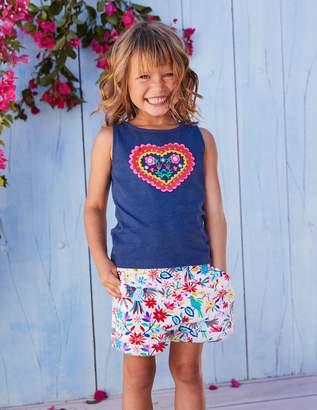 Boden Colourful Woven Shorts