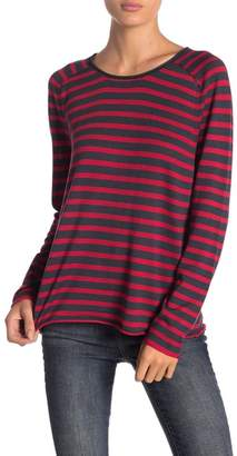John & Jenn Striped Lightweight Pullover Sweater