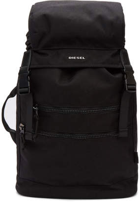 Diesel Black F-Urbhanity II Backpack