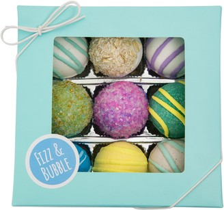 Fizz & Bubble Spa Bath Truffles - Set of 9