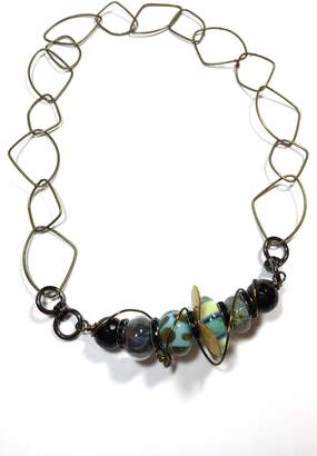Leocadia Designs Funky Glass Necklace
