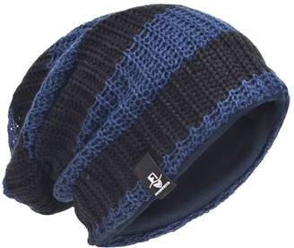 HISSHE Men Slouchy Beanie Stripe Knit Winter Skull Cap CB09 50cebfafb8c