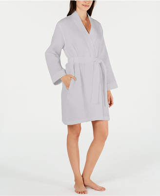 Charter Club Luxe Woven Turkish Cotton Waffle Robe