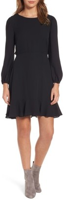 Women's Chelsea28 Open Back Ruffle Dress $89 thestylecure.com