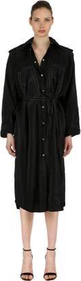 Nina Ricci Viscose Blend Shirt Dress