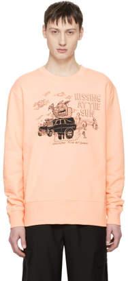 McQ Pink Hissing At The Sun Sweatshirt