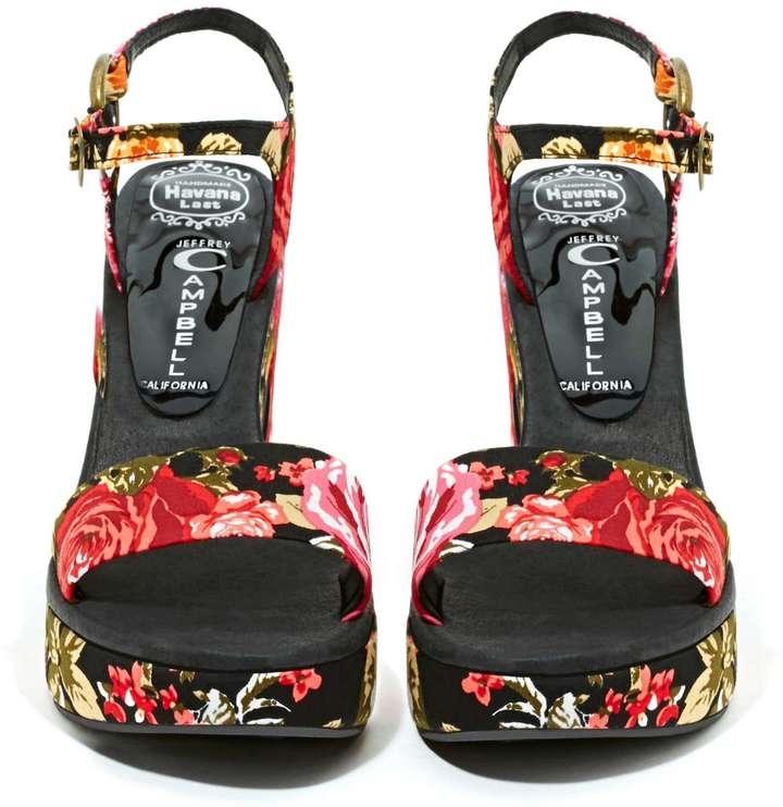 Nasty Gal Jeffrey Campbell Giula Platform Sandal