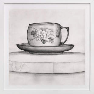 Great Grandma's Coffee Cup Art Print