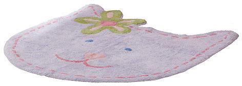 Sumersault Ltd Sumersault Fun Faces Pink Rug