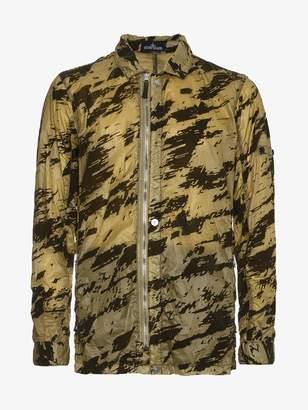 Stone Island Shadow Project Camouflage Print Shirt Jacket