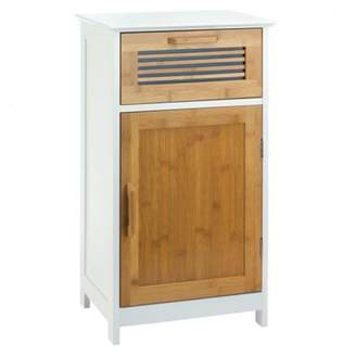 Accent Plus Bamboo and Wood Floor Cabinet