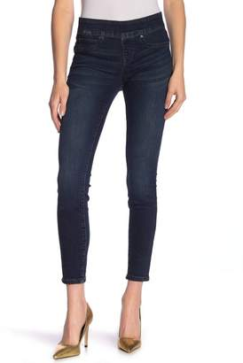 Nicole Miller New York High Rise Pull-On Skinny Jeans