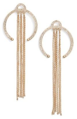 Women's Ettika Open Hoop Drop Earrings $45 thestylecure.com