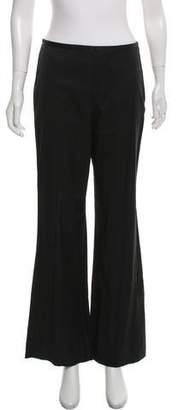 Trina Turk Mid-Rise Wide-Leg Pants