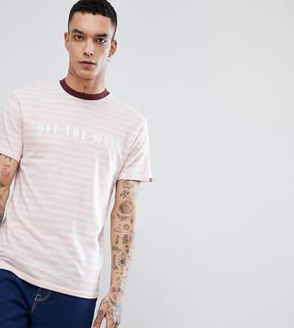 Vans Oversized OTW T-Shirt In Pink Exclusive To ASOS