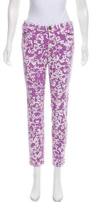 Current/Elliott DVF Loves Mid-Rise Printed Jeans w/ Tags