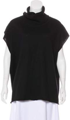 Robert Rodriguez Silk-Blend Knit Tunic