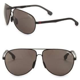 Carrera 65MM Aviator Sunglasses