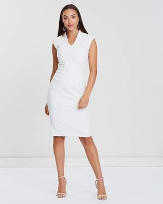Forcast Genesis V-Neck Dress