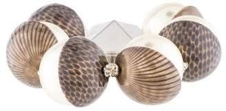Christian Dior Faux Pearl Bead Bracelet