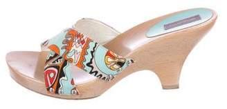 Emilio Pucci Multicolor Slide Slides