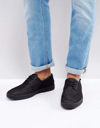 Aldo Glamosa Boat Shoes In Black