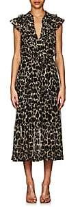 Robert Rodriguez Women's Leopard-Print Silk Maxi Dress-Neut. pat.