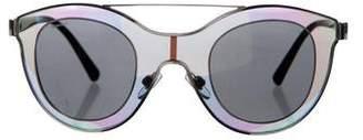 Giorgio Armani Holographic Tinted Sunglasses