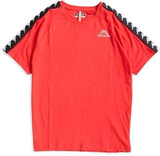 Kappa Coen T-Shirt Dark Red & Black