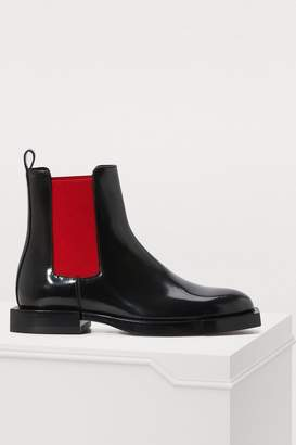 Alexander McQueen Patent ankle boots