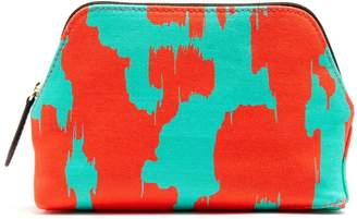 Diane von Furstenberg Ebrba-print canvas cosmetics case