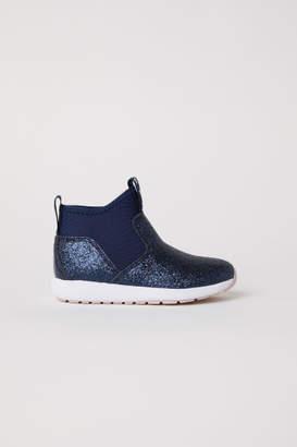 H&M Scuba-look High Tops - Blue