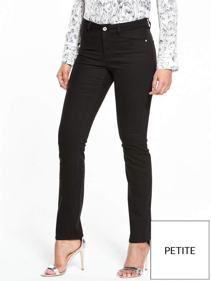 Short Ashton Mid Rise Slim Leg Jean