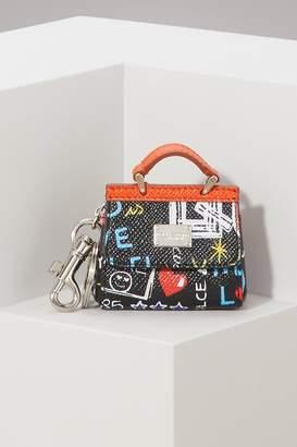 Dolce & Gabbana Micro Sicily keychain charm