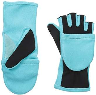 Isotoner Women's Flip Top Cold Weather Gloves with Convertible