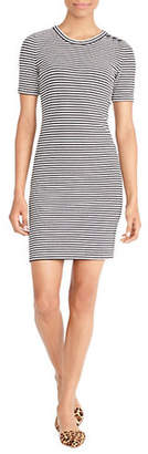 J.Crew MERCANTILE Striped Cotton Sweater Dress
