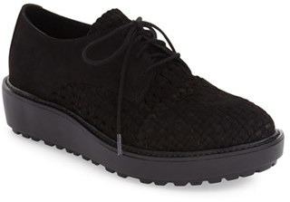 Eileen Fisher 'Oath' Platform Oxford (Women) $250 thestylecure.com