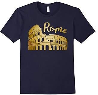 Colosseum Rome Italy Shirt Vintage Style Souvenir T-shirt