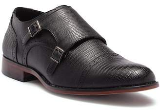 X-Ray XRAY Vermin Snake Embossed Monk Strap Shoe