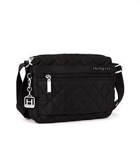 Hedgren Carina Diamond Stitch Top Zip Shoulder Bag