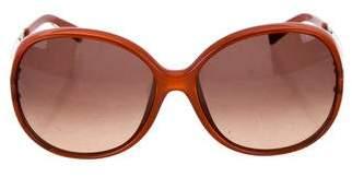Fendi Round Oversize Sunglasses