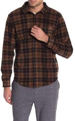 Threads 4 Thought Plaid Long Sleeve Fleece Regular Fit Shirt