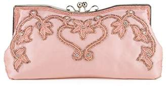 Farfalla Womens 90586 Clutch Peach