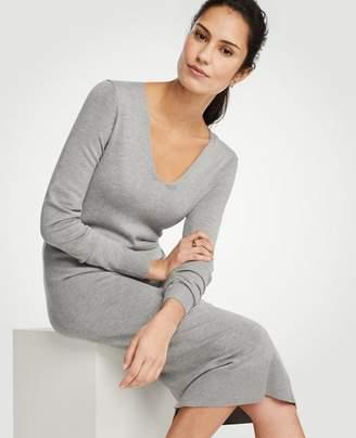 Ann Taylor Petite Midi Sweater Dress