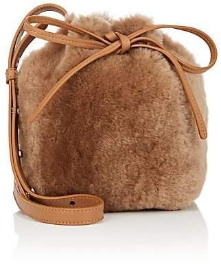 Mansur Gavriel Women's Mini Mini Shearling Bucket Bag