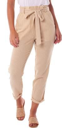 rhythm Stripe Tie Waist Pants