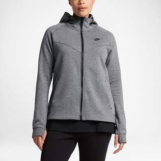 Nike Sportswear Tech Fleece (Plus Size) Women's Full-Zip Hoodie