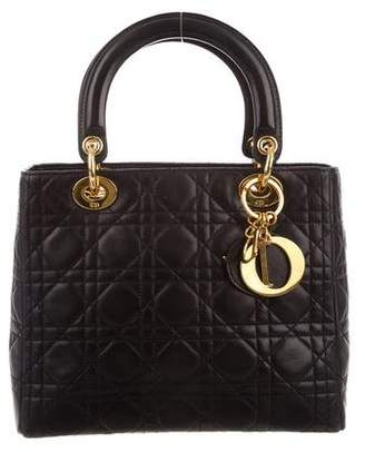 Christian Dior Small Lady Bag