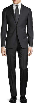 DKNY Solid Wool Two-Piece Suit
