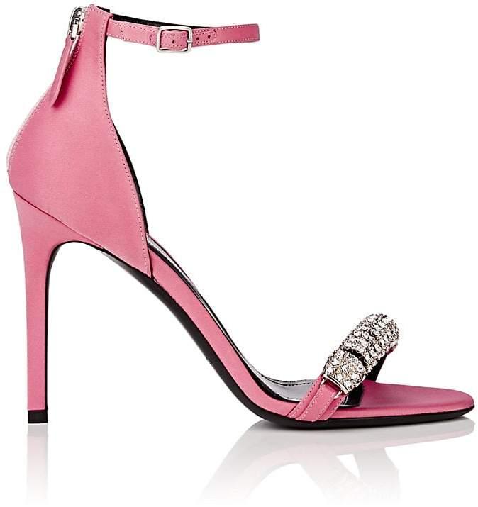 CALVIN KLEIN 205W39NYC Women's Camelle Satin Sandals